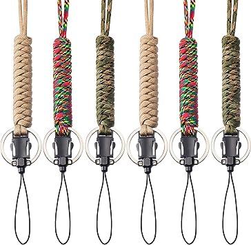 2 Stücke 18 cm Lange Hand Seil Taschenlampe Handschlaufe Camping Wandern