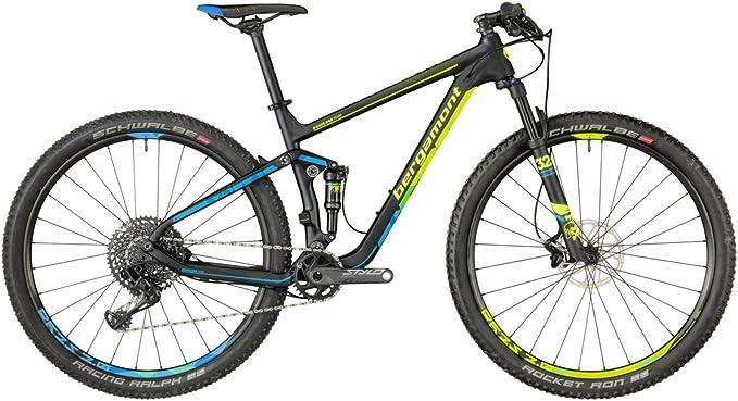 Bergamont fastlane Team Carbon MTB 29 negro/amarillo/azul ...