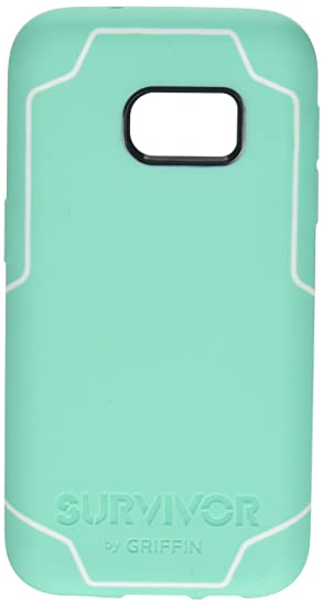 best sneakers fa5ab b79da Griffin Survivor Journey for Samsung Galaxy S7, Mint/White - Journey is  Super-Thin Drop Protection for Your Galaxy S7.