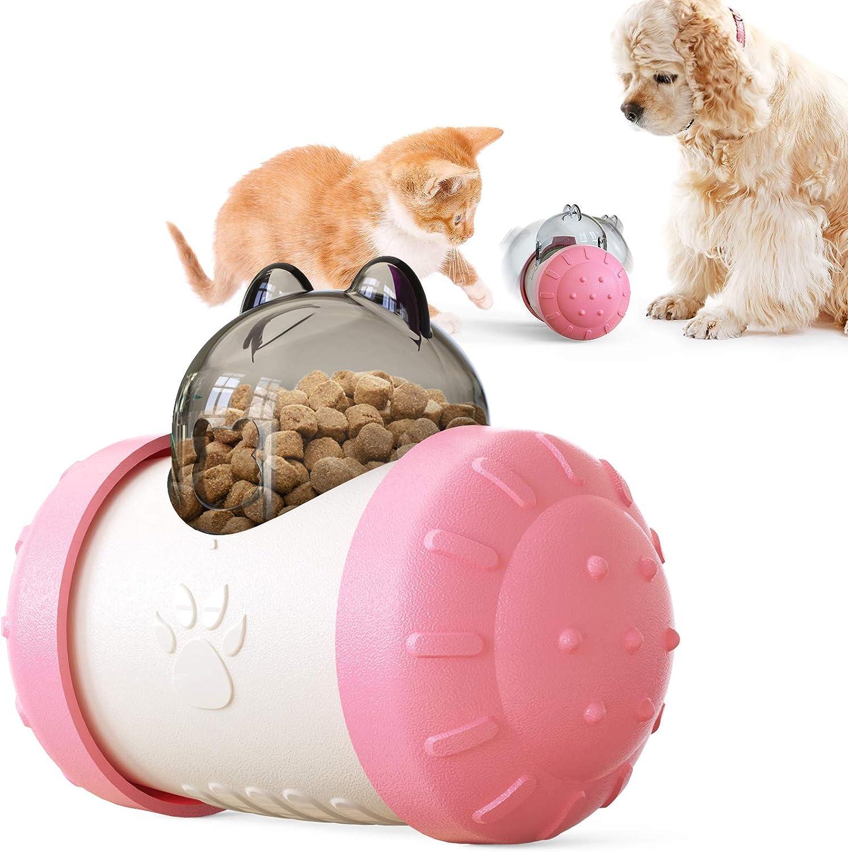 Minishop Dog Treat Ball Toy UFO Food Dispenser Puzzle Slow Feeder Ball Dog Toy IQ Ball
