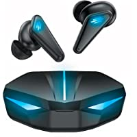 BINDEN Audifonos Gamer Dark Manta Audifonos Inalambricos TWS Bluetooth 5.1 con Estuche de Carga hasta 10 hrs de Batería…