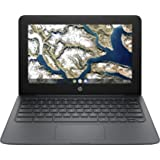 "Newest Flagship HP Chromebook, 11.6"" HD (1366 x 768) Display, Intel Celeron Processor N3350, 4GB LPDDR2, 32GB eMMC, Chrome OS"
