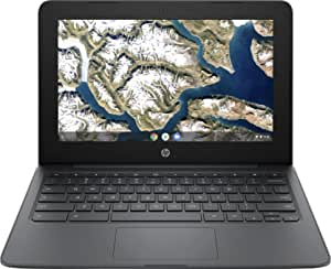 "Newest Flagship HP Chromebook, 11.6"" HD (1366 x 768) Display, Intel Celeron Processor N3350, 4GB LPDDR2, 32GB eMMC, Chrome OS, HD Graphics 500, 11A-NB0013DX, Ash Gray"