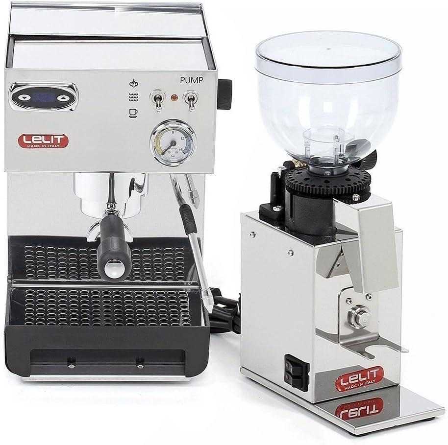 Lelit Anna PL41TEM Cafetera de espresso manual y Lelit Fred PL043MMI
