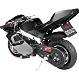 US Stock - 49cc Mini Gas Power Pocket Bike Motorcycle 4-Stroke Engine Motorcycle Holeshot Off Road Motorcycle for Kids…