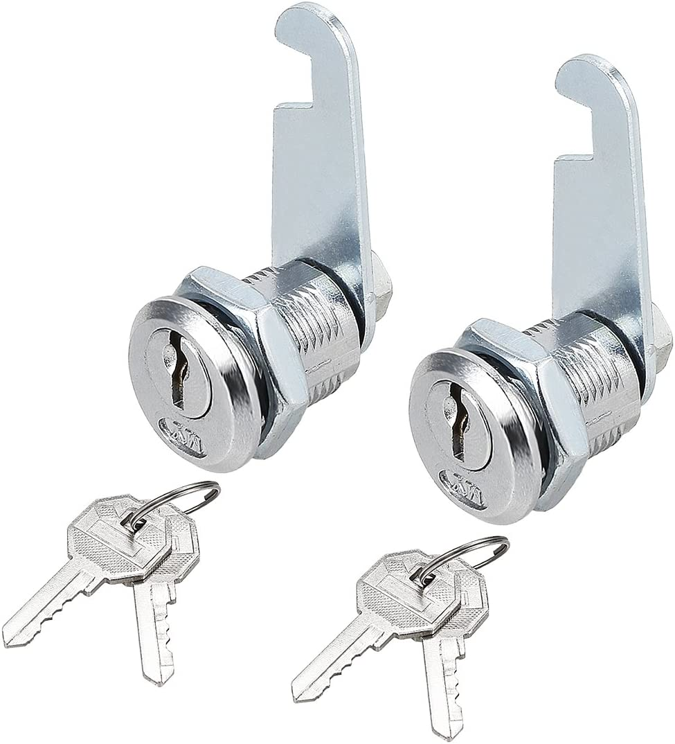uxcell Drawer Cabinet Cam Lock, 13/16