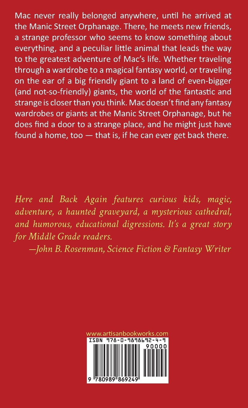 Here And Back Again: Aedrien Macayle, Kelly Lenihan: 9780989869249:  Amazon: Books
