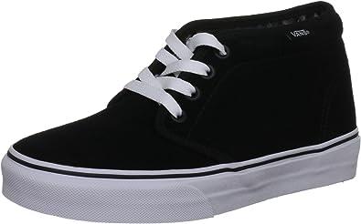 huevo Búsqueda Pacífico  Amazon.com | Vans - U Chukka Boot Shoes in Black/White, Size: 6 D(M) US  Mens / 7.5 B(M) US Womens, Color: Black/White | Chukka