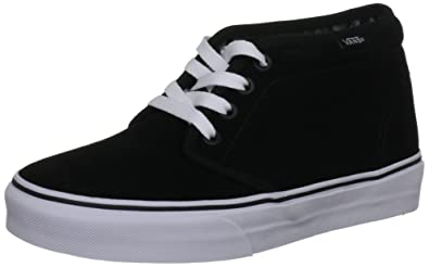 VANS CHUKKA BOOT 7 Men US 8.5 Women US (BLACKWHITE)
