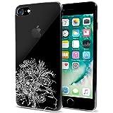 MTT Designer Pattern Hard Back Cover Case for iPhone 7 - Crystal Clear (Design 1)