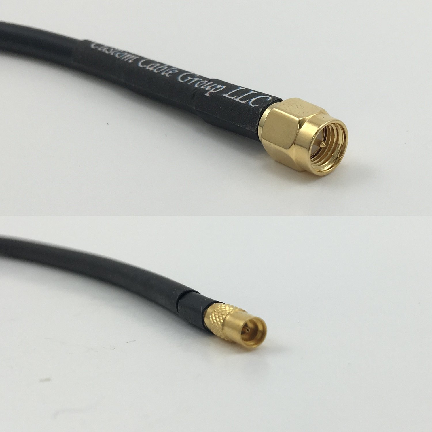 6 inch RG188 SMA MALE to MMCX FEMALE Pigtail Jumper RF coaxial cable 50ohm High Quality Quick USA Shipping