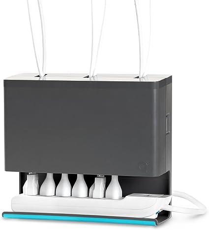 Quirky - Organizador de Cables para Debajo del Escritorio: Amazon.es: Oficina y papelería