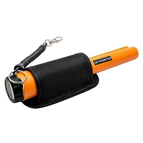 Senweit Metal detector de excavadora portátil at PinPointer Pro-Pointer con Holster tesoro caza accesorios