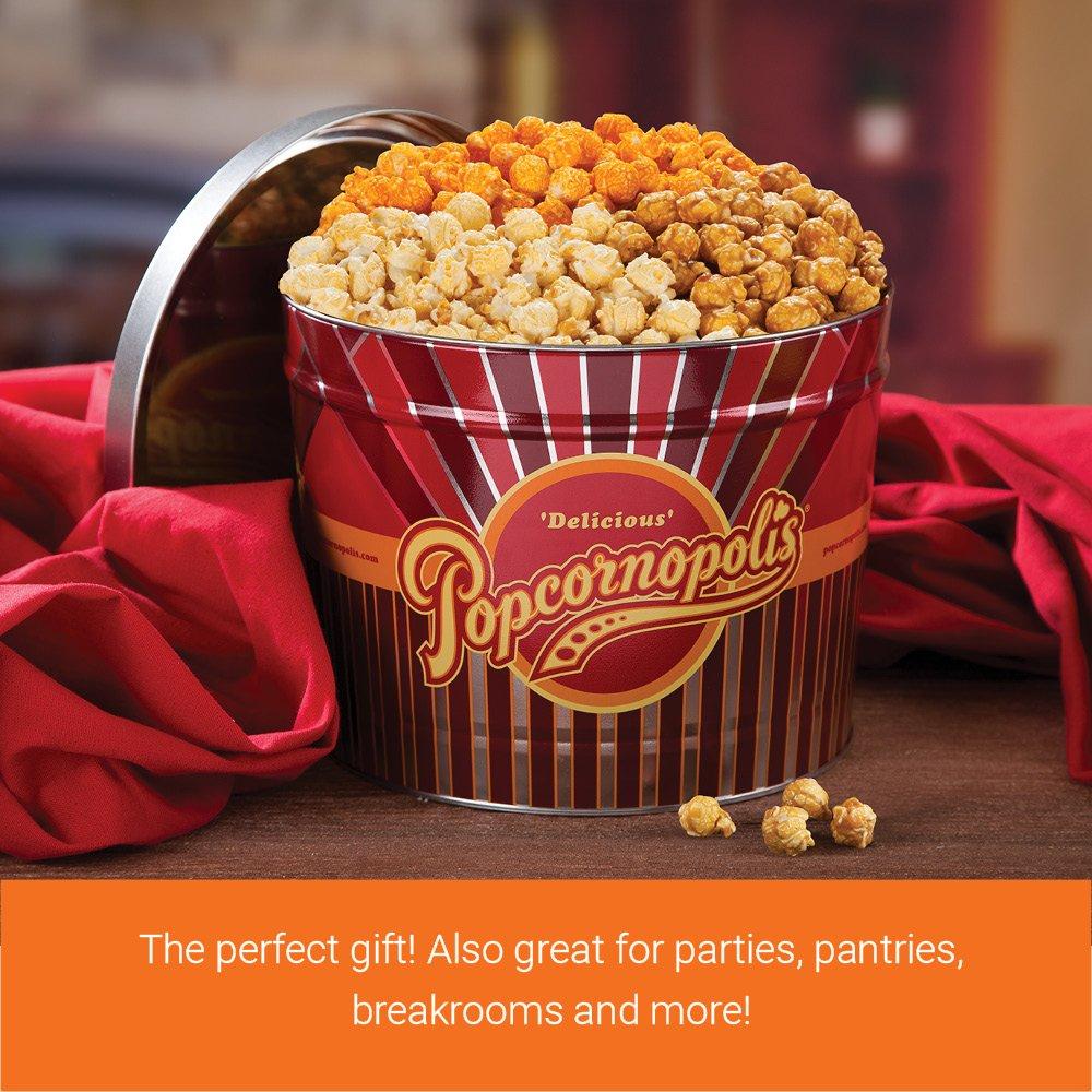 Popcornopolis Gourmet Popcorn 2 Gallon Tin - Classic by Popcornopolis (Image #2)