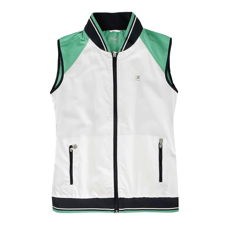 Fila Mujer Chaqueta College Vest Cosma: Amazon.es: Deportes y aire ...