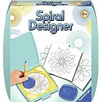 Ravensburger Spiral-Designer Mini, Zeichnen lernen für Kinder ab 6 Jahren, Kreatives Zeichen-Set mit Mandala-Schablone…
