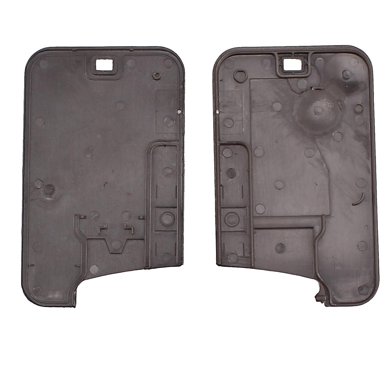 Distancia de 2 botones para llave Carcasa de llave para Renault Laguna Espace