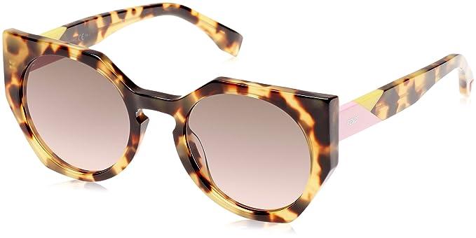 Fendi Damen Sonnenbrille Ff 0151/S En Mehrfarbig (Spotted), 51