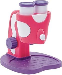 Educational Insights GeoSafari Jr. My First Microscope, Pink: STEM Toy for Preschoolers