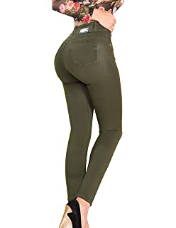 Amazon.com: república Bananera Mujer Dark Wash novia Rolled ...