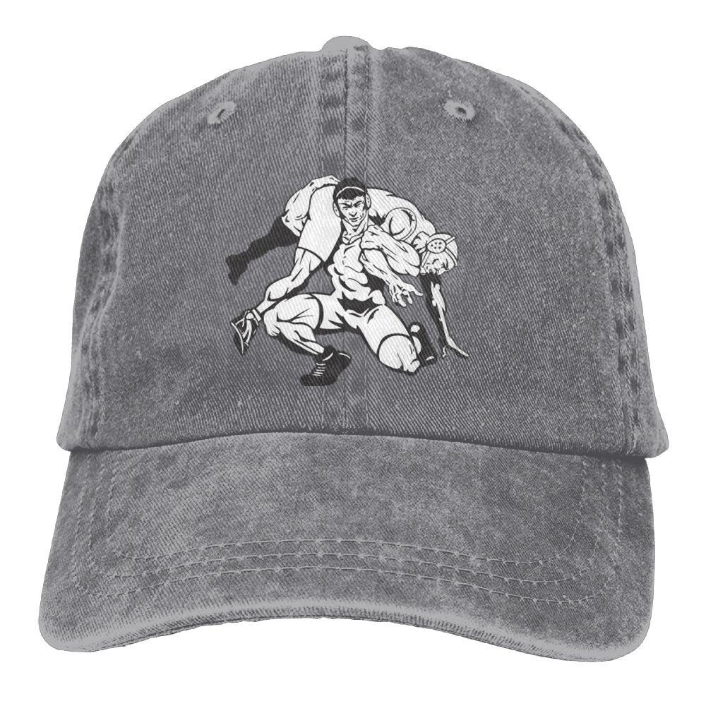 USA Wrestling Logo Baseball Caps Printed Comfort Visor Hats for Men & Women