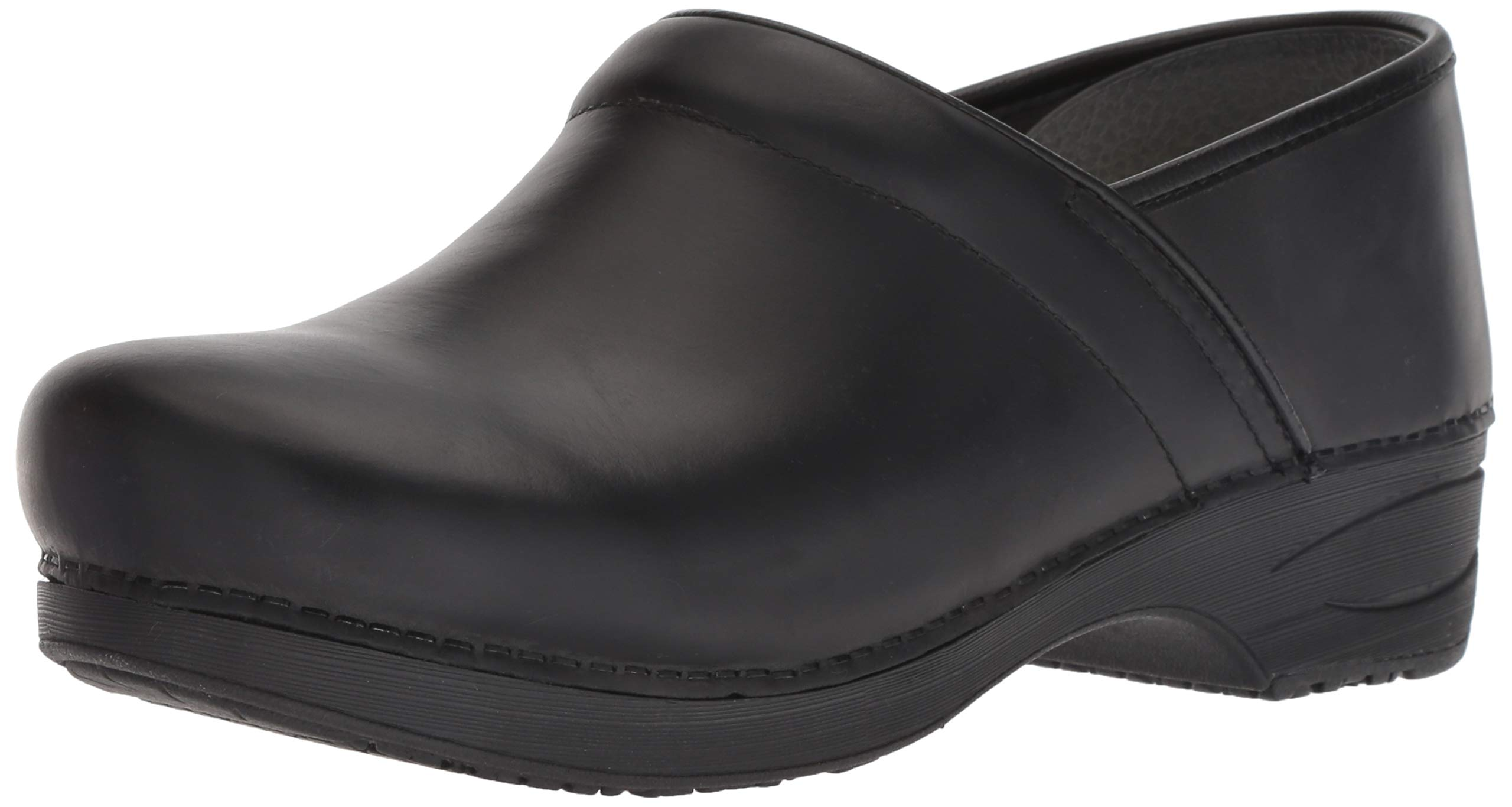 Dansko XP 2.0 Mens Clog, Black Burnished Nubuck, 43 M EU (9.5-10 US)