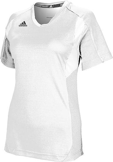 adidas Utility - Camiseta de manga corta para mujer, color blanco: Amazon.es: Deportes y aire libre