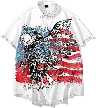Camisas con Estampado Digital 3D del Día de la Independencia ...