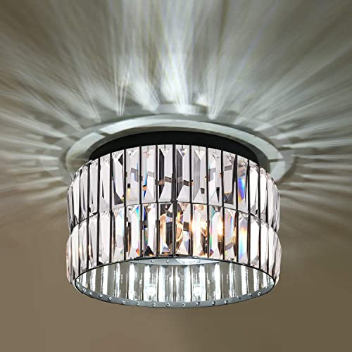 K9 Crystal Flush Mount Ceiling Lights Fixture
