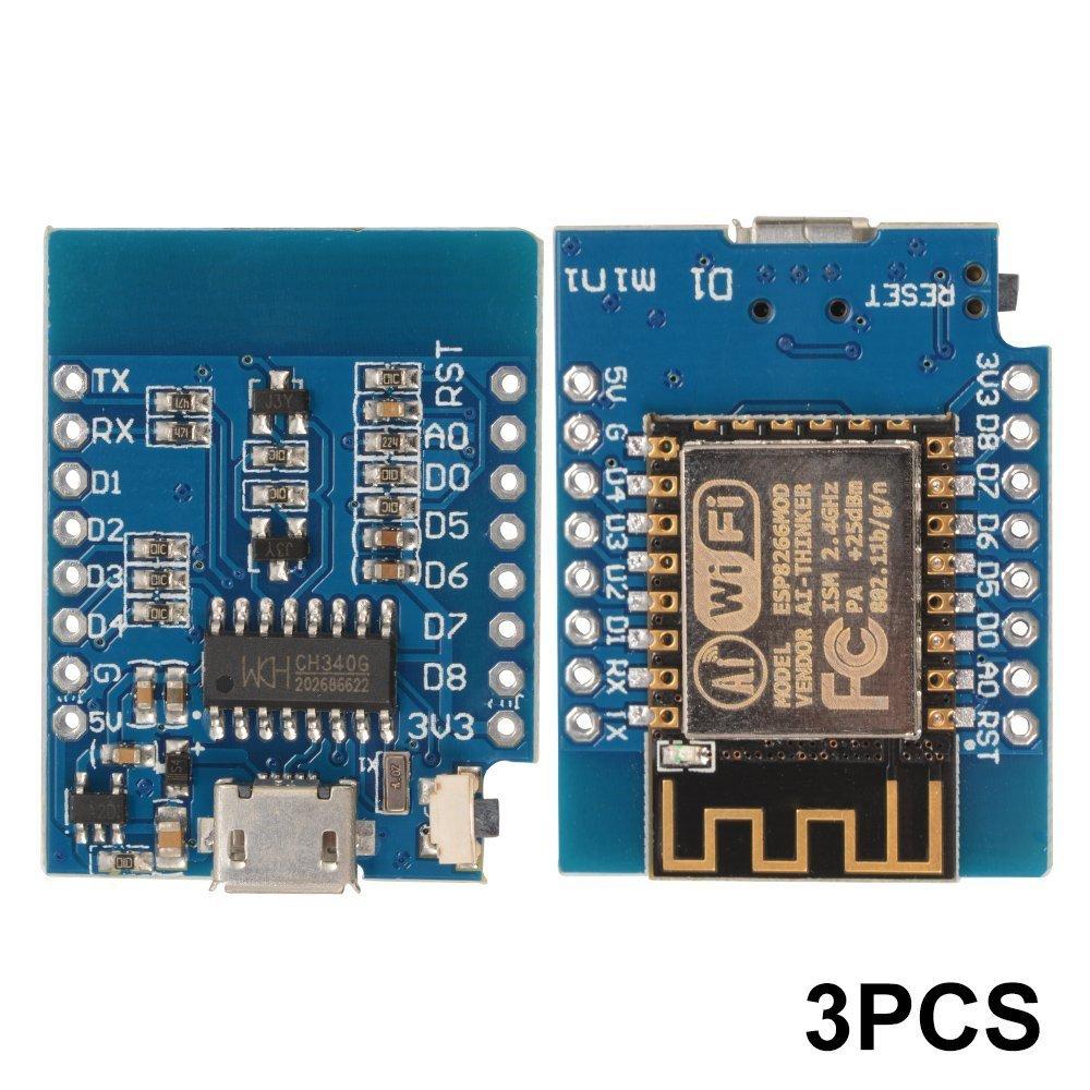 XCSOURCE 3pcs D1 Mini NodeMcu Lua WIFI Develop Based ESP-12F Module ESP8266 Development Board Module TE684