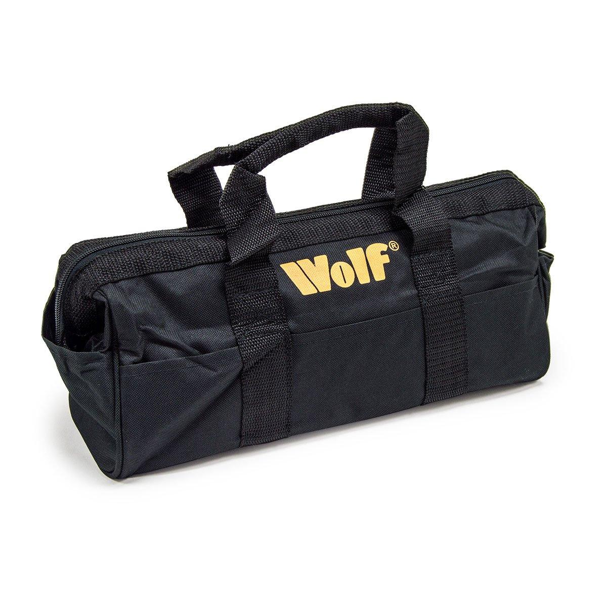 Wolf Heavy Duty Zipped Tool Bag 360x 140 x150mm (LxWxH)