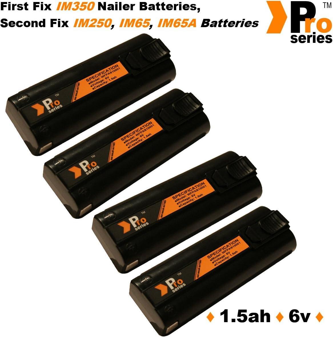 Pro Series pour Paslode Nailers 4/x Batterie de rechange 6/V 1,5/Ah