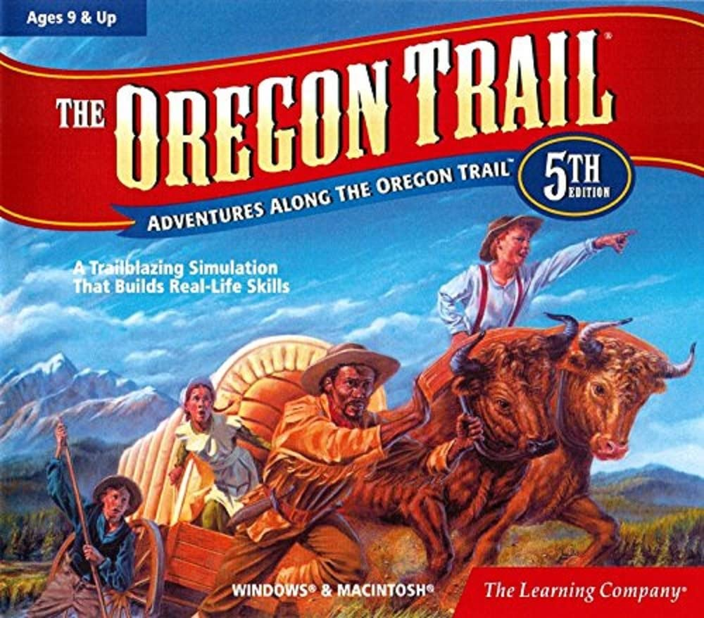B00005LBVS The Learning Company - Oregon Trail 5th Edition 71Sa52et2B5L