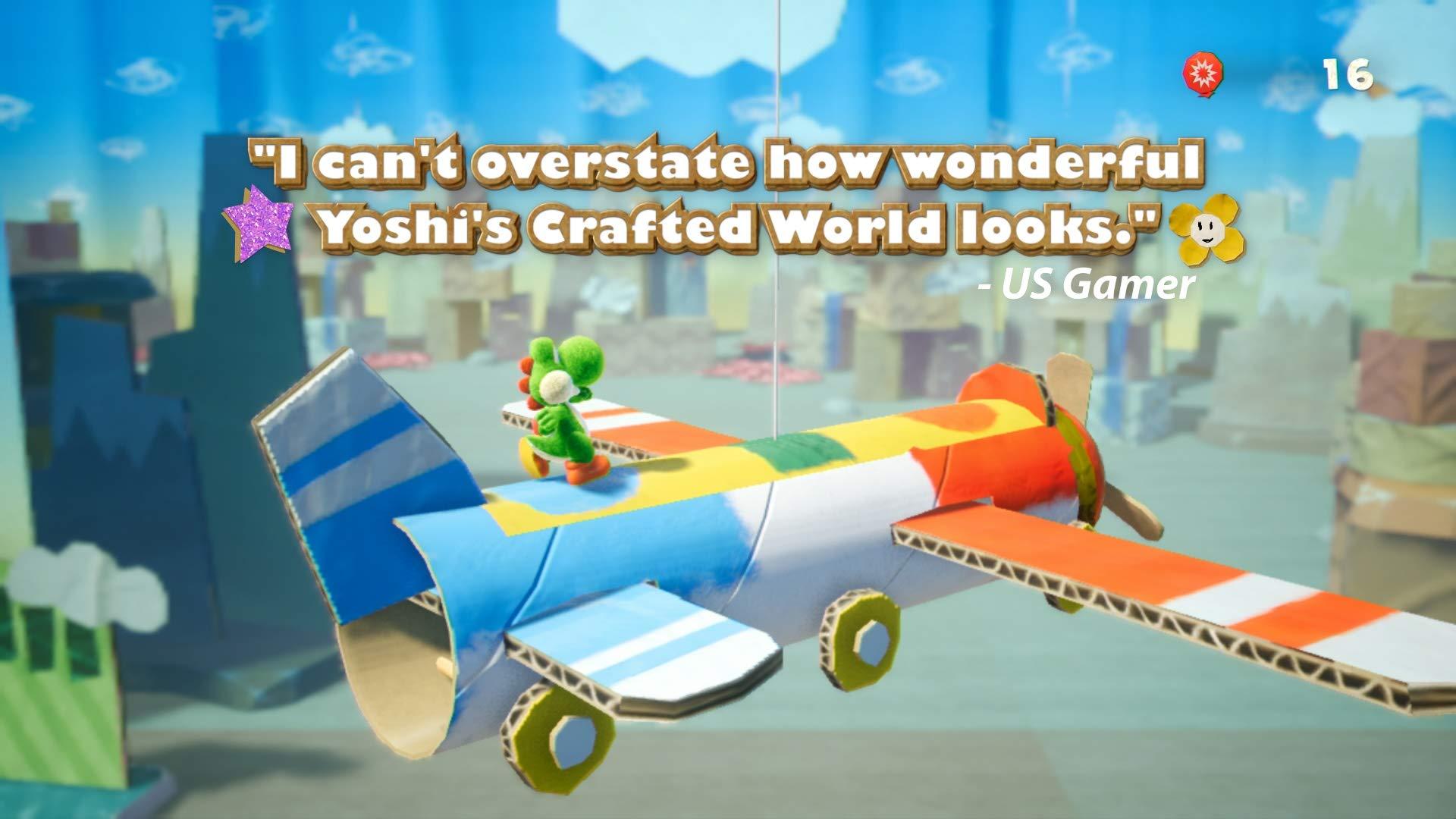 Yoshi's Crafted World - Nintendo Switch by Nintendo (Image #15)