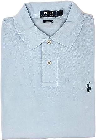 Ralph Slim Fit - Polo para hombre, color azul marino Scarpette A ...