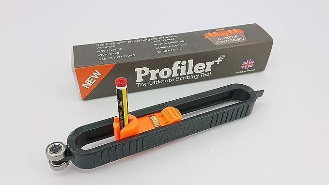 Profiler+, la mejor herramienta trazadora para carpinteros, talleres, cocinas, ventanas, baños, instaladores y otros artesanos. Profiler+ tiene un robusto diseño de construcción diseñado para hacer frente a las demandas de la industria,