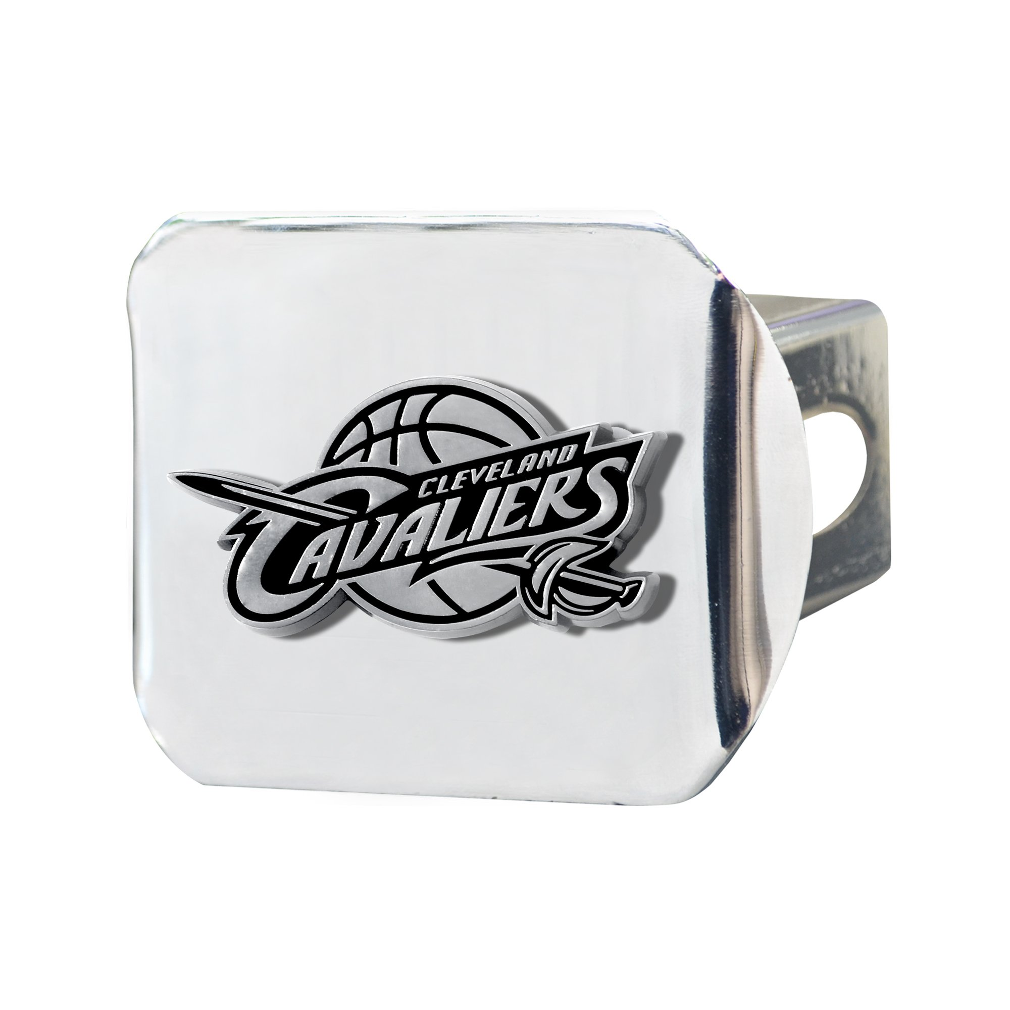 NBA Cleveland Cavaliers Hitch Cover, 4 1/2'' x 3 3/8''/Small, Black by Fanmats