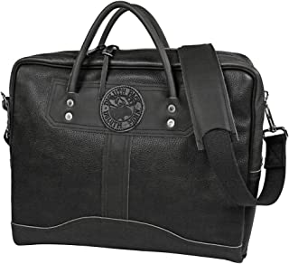 product image for Duluth Pack Pebbled Leather Travelers Portolio Black