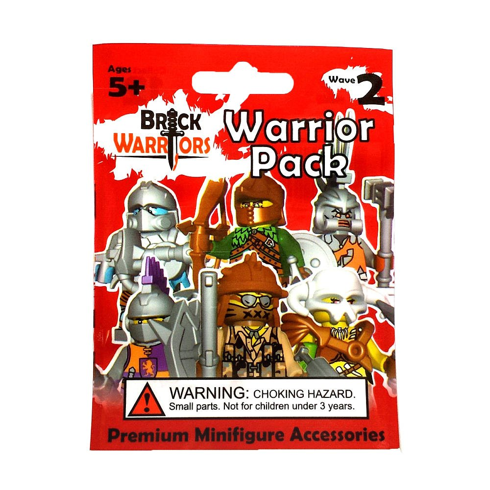 Warrior Pack: Minotaur Brick Warriors series Wave 2 Brick Warriors.com