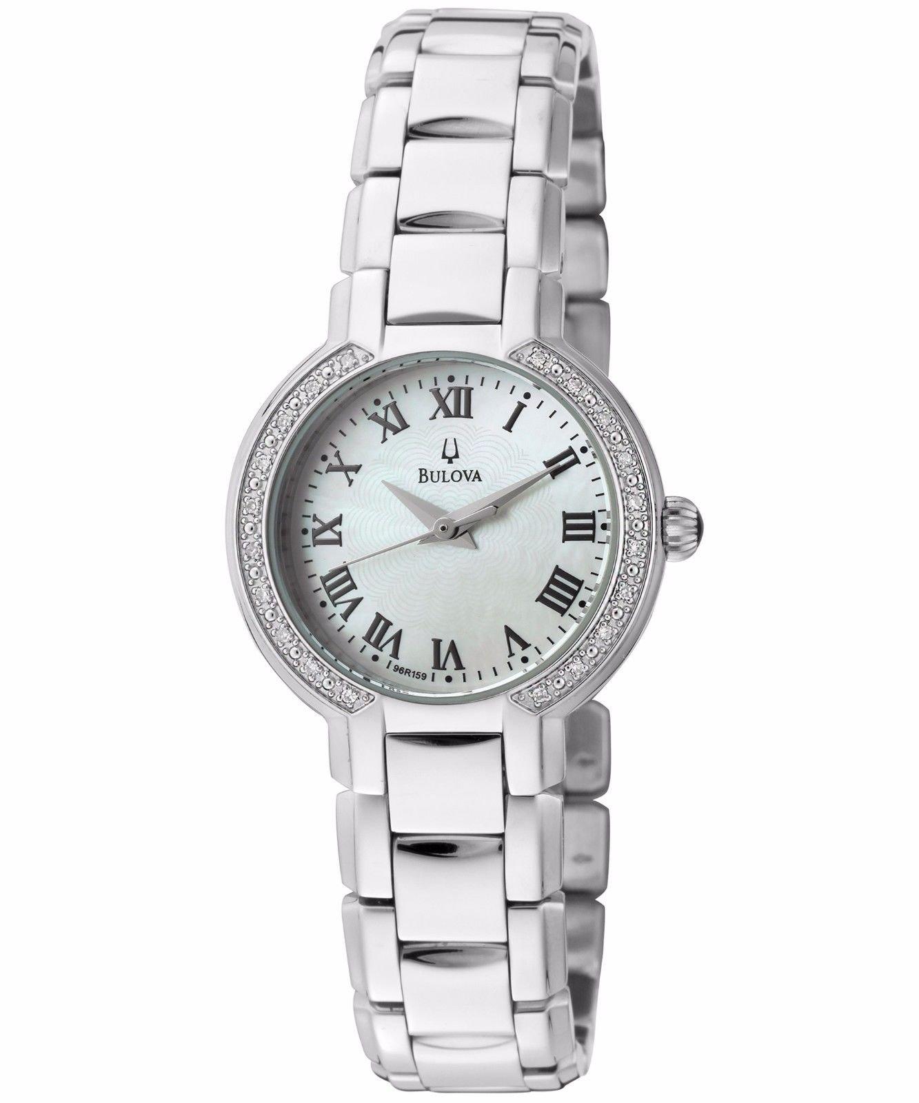 Bulova Women's 96R159XG Diamond Dial Quartz Watch (Certified Refurbished)