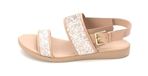 Cole Haan Womens Sherrysam Open Toe Casual Slide Sandals Nude Size 60