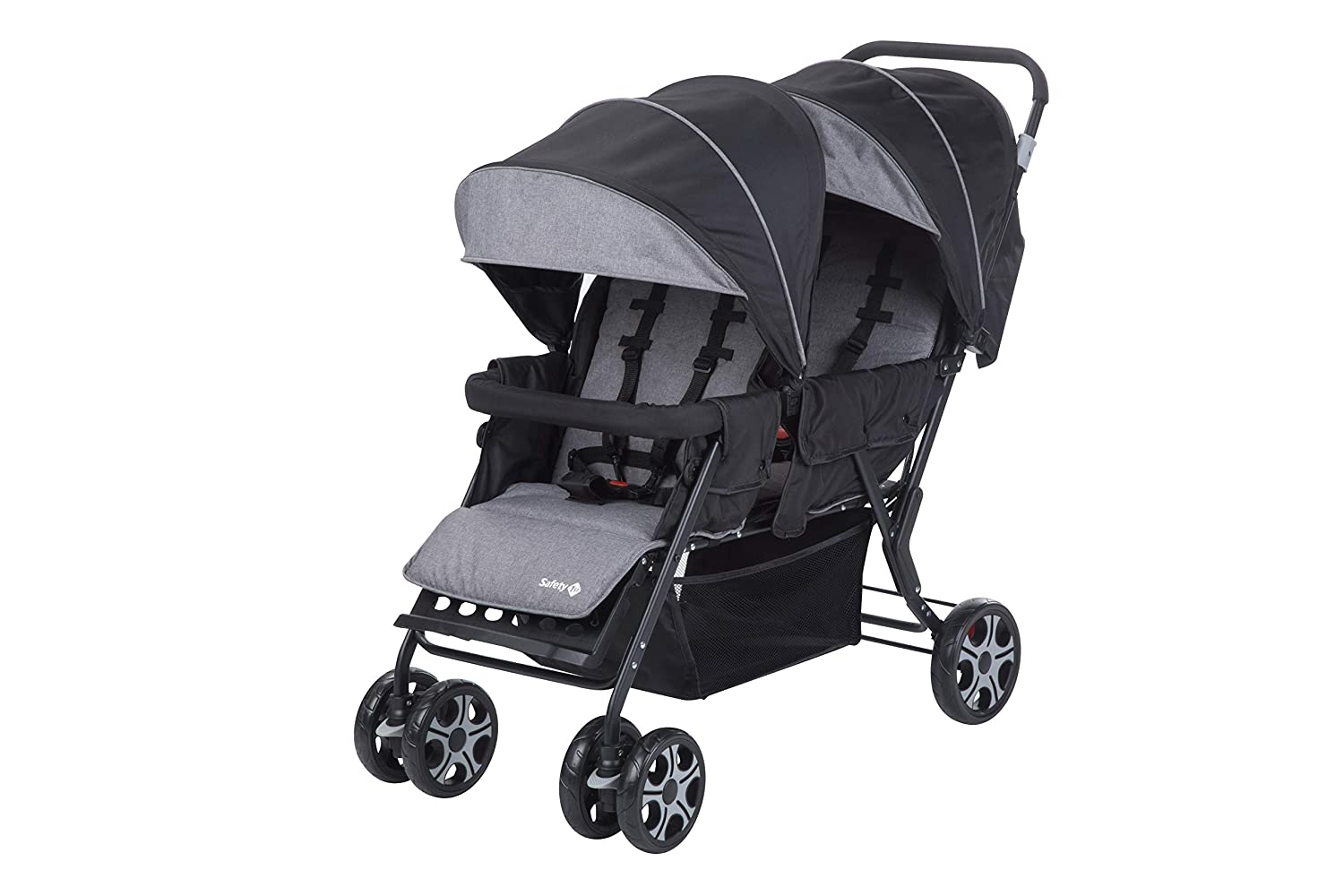 Safety First TEAMY DUO 'Black Chic' - Silla de paseo DUO, color negro Dorel 1151666000