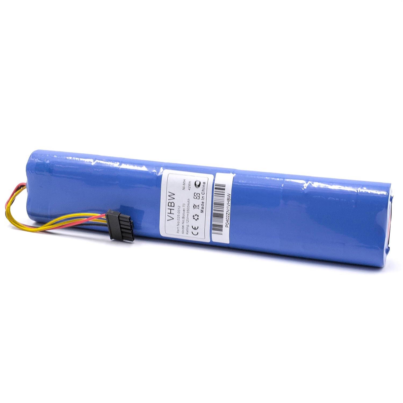 vhbw NiMH batería 3500mAh (12V) para robot limpiasuelos robot ...