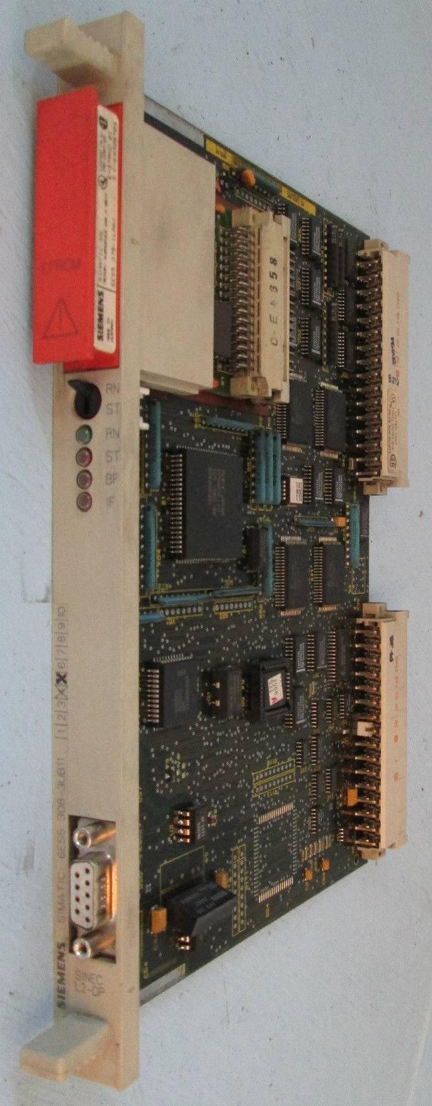 Siemens 6ES5 308-3UB11 Interface Module 115U/135U/155U Symadyn D PLC Simatic S5