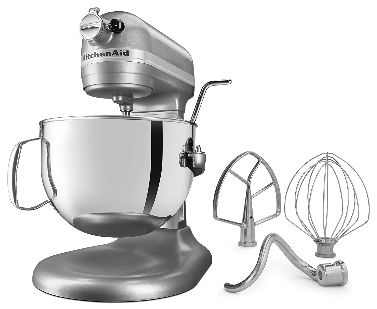 Kitchen aid 6 quart mixer - Amazon Com Kitchenaid Kl26m1xsl Professional 6 Qt Bowl Lift Stand Mixer Silver Kitchen Dining
