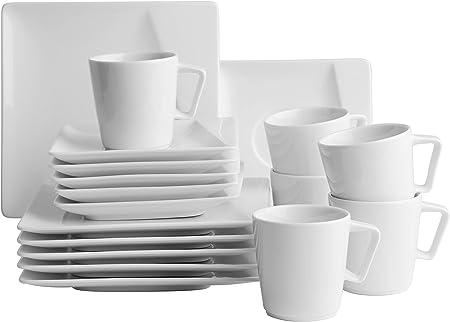 Kaffeegedeck 3-teilig und als 6er Set