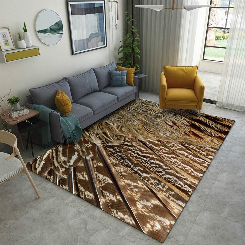XGPT Rugs spot Pattern Living Room Bedroom Soft and Comfortable Modern Minimalist Printed Floor mat Carpet,C,160230cm by XGPT
