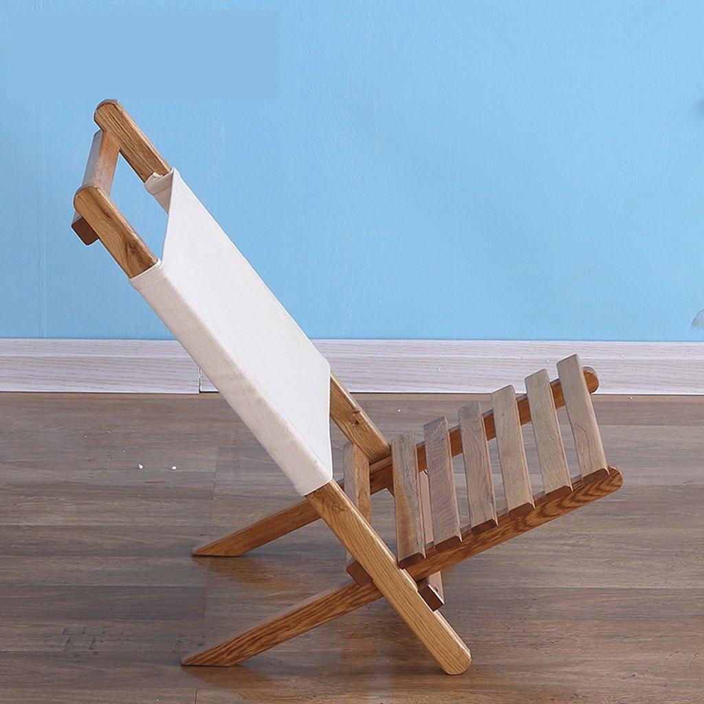 Silla de salón de madera maciza Silla de salón perezoso ...