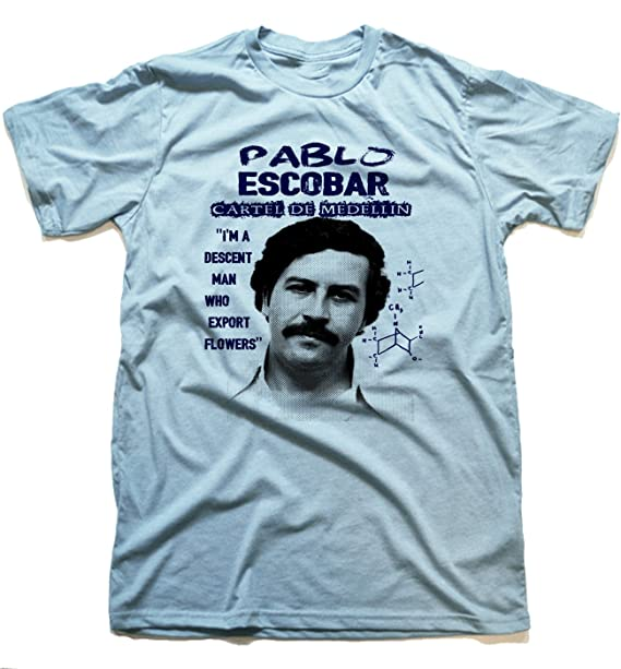 Rancid Nation Pablo Escobar Graphic T-Shirt Medellin Cartel by Goliath74