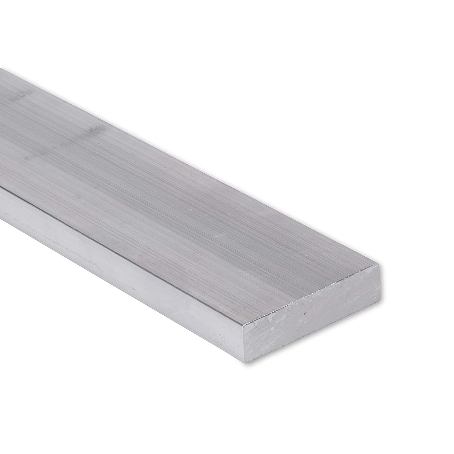 "6061 Plate 3//4/"" x 1-1//2/"" Aluminum Flat Bar T6511 Mill Stock 24/"" Length 0.75/"""